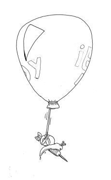 snaildartballoon